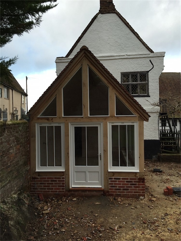 Timber Frame Garden Room Extension, Wingham