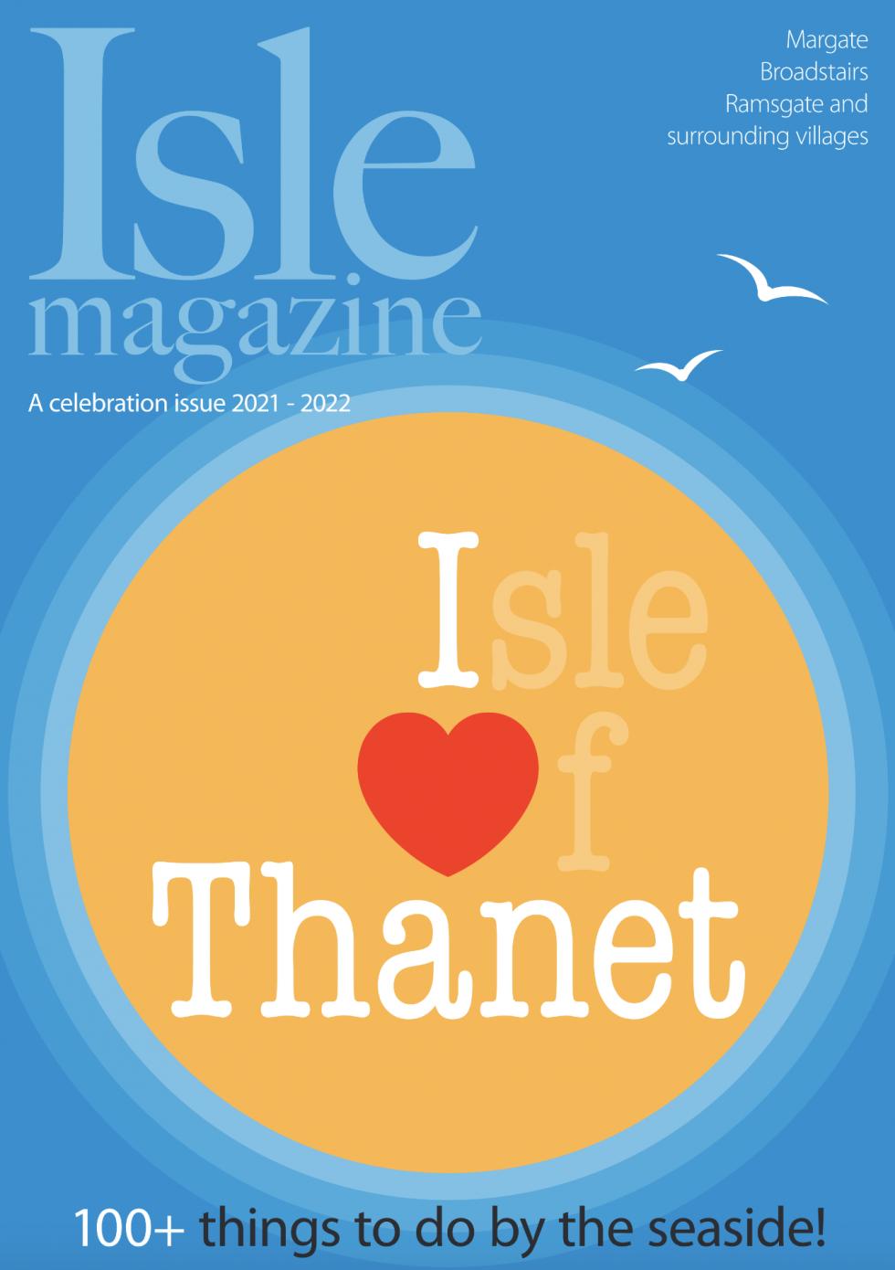 Quentin Jones in Isle Magazine